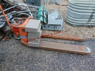 Power packer pallet jack  5 elec boxes    other