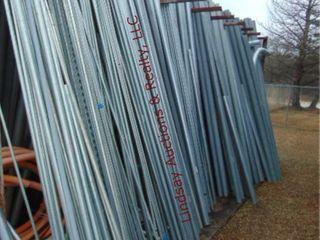 large lot of conduit  various sizes
