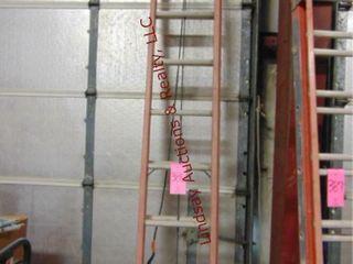 louisville 20  fiberglass ext ladder 300lb cap