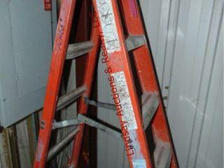louisville 6  fiberglass step ladder 300lb cap