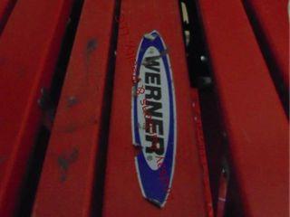 Werner 8  fiberglass step ladder 300lb cap