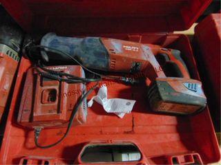 Hilti WSR 21 6V cordless sawzall w  1 battery