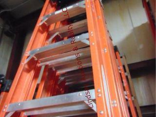 Werner 10  fiberglass step ladder 300lb cap