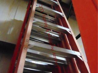 Werner 12  fiberglass step ladder 300lb cap