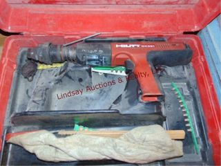 Hilti DX351 power actuator in case  NO BATTERY