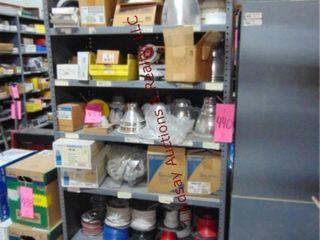 6 tier shelf  NO CONTENTS  3  x 18  x 7
