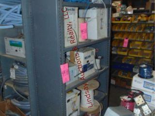 Metal 5 tier shelf 36 x 18 x 85 NO CONTENTS