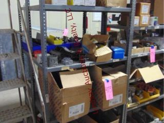 CONTENTS on shelves  ceiling boxes  lugs