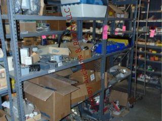 2 shelves 48 x 18 x 86  NO CONTENTS