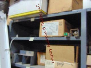 CONTENTS on shelf  lights  fixtures  parts
