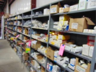 11 Sections of Metal shelving NO CONTENTS