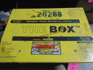 The Box temp  power dristribution center 50amp