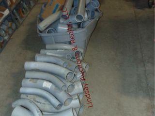 large lot of Misc PVP Conduit Pieces