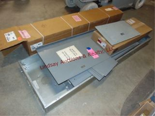 large Electrical Service Panels