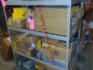 CONTENTS on shelf  Decorator switches