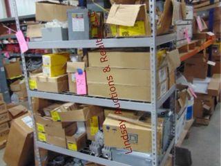 Metal shelf  NO CONTENTS  48  x 24  x 78