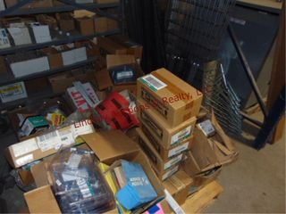 Pallet of Misc items  Junction boxes