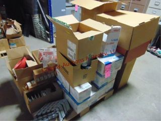 Pallet of Misc items  Fire alarms