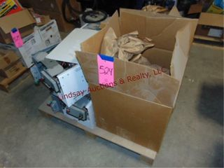 Pallet of Misc safety switches  See Pictures
