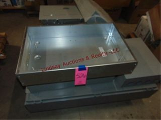 Pallet of Electrical Enclosure some with