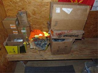 lot w  heat boxes  Safety switches  pvc pcs