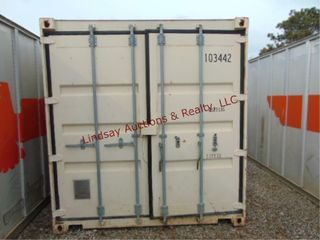 Storage Container 8x8x20 NO CONTENTS