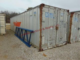 Storage Container 8  x 40  x 8   NO CONTENTS