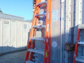 Werner 10  fiberglass ladder