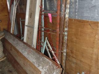 lot of Scaffolding pieces  Walk boards  Uprights