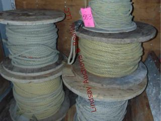 5 Partial rolls of rope