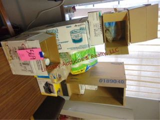 lot of Papertowels  TP  Disinfectant sprays