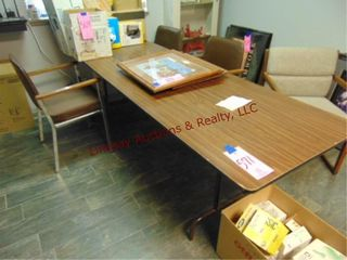 8  Folding table   4 Chairs