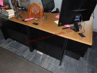 l shape office desk  77x71 5 x 29 5 x 29