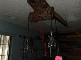 Hanging light   Beam light Approx 6  long