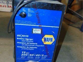 Napa 85 1010 battery charger   starter 12VDC 2amp