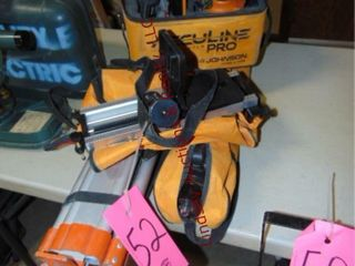 Acculine Pro laser level w  tripod   other