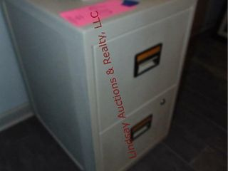 2 Drawer Sentry Fire File Cabinet