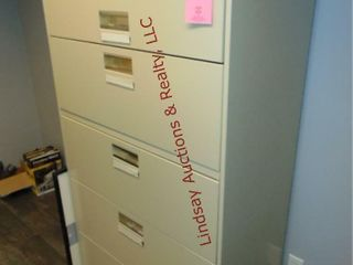 5 Drawer lateral file cabinet 36x19x 57