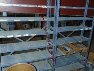 2 shelving units 36x 12x 75