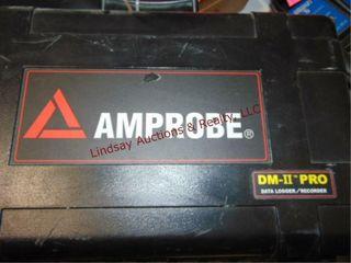 Amprobe DM II Pro data logger recorder w  case