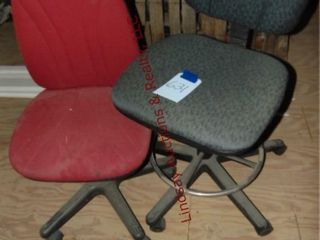Rolling office chairs