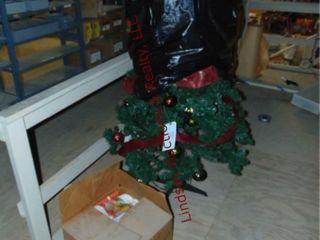 Christmas tree   box of decor