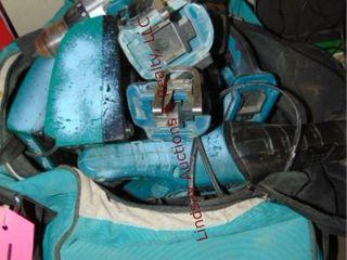 Makita tool bag w  18v cordless drill  impact