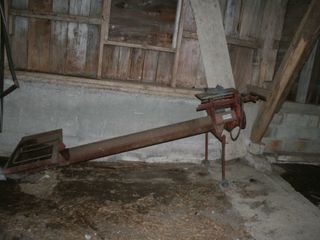 6 x8  TRANSFER AUGER WITH HOPPER