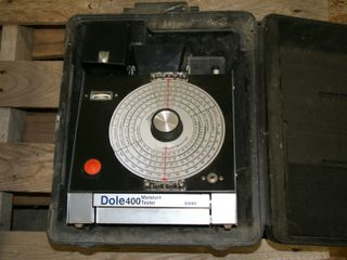 DOlE 400 MOISTURE TESTER AND CASE