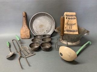 Grouping of Primitive Kitchen Tools