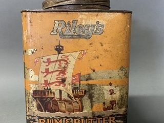 Riley s Rum   Butter Toffee Tin