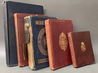 lot of Early Hardcover Books