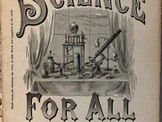 Science For All Magazine lot  1800 s 2 Cents Each
