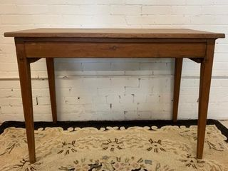 Antique Single Board Top Sidetable